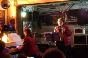 Duo Dreiklang bei einem Live-Auftritt